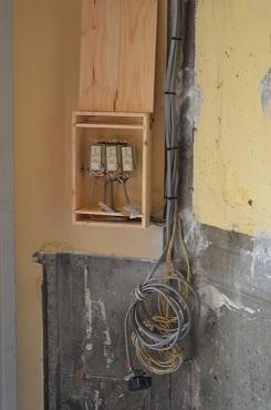 ショップ電気系統