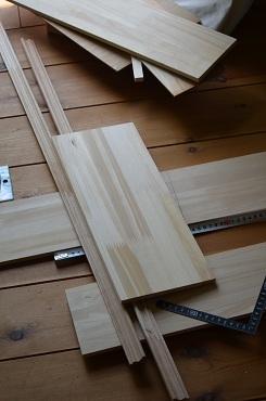 ポスト木材カット