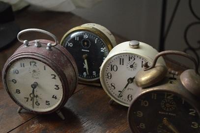 アンティーク目覚まし時計