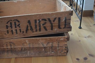 蚤の市木箱