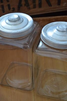 蚤の市駄菓子瓶