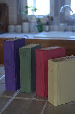 本の色塗り