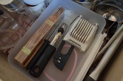キッチン整理中段