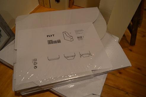 IKEAファイルホルダー