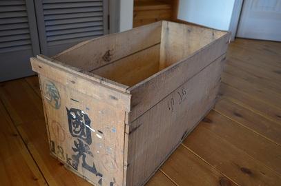 リンゴボックス箱