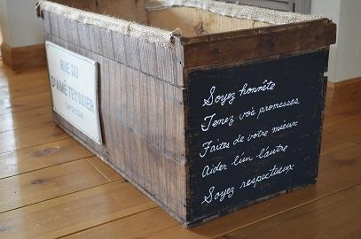 リンゴ箱リメイク
