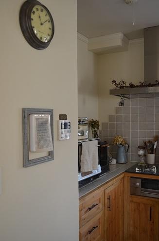 キッチン給湯器周辺
