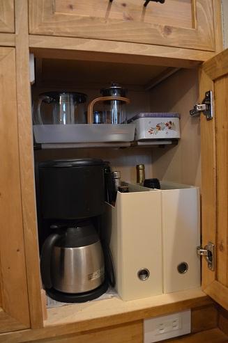 コーヒー紅茶棚