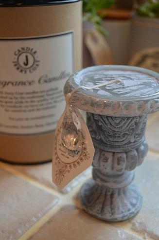 花瓶キャンドル