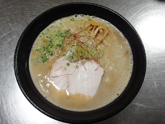 鶏白湯魚介