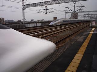 西明石駅、500系