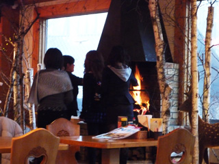 ロックの暖炉