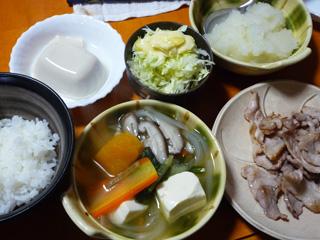 おろしポン酢鍋