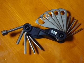 自転車用セット工具