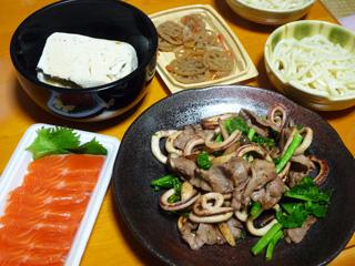 豚とイカでおいしい菜