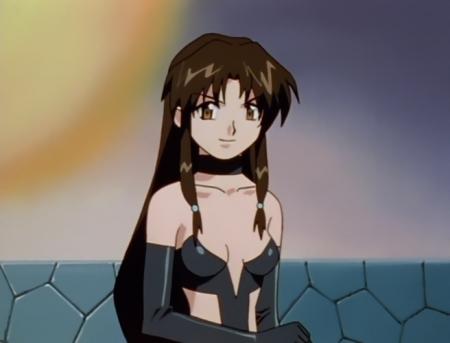 異次元の世界エルハザード ファトラ・ヴェーナスのボンデージ風エロコスチューム48