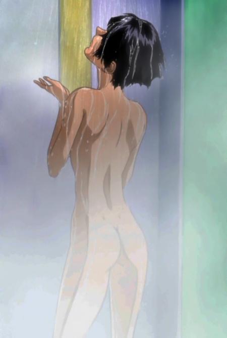 機動戦士ガンダムSEED ナタル・バジルールの全裸シャワーシーン25