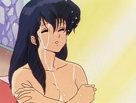 めぞん一刻TV版 音無響子の胸裸シャワーシーン13