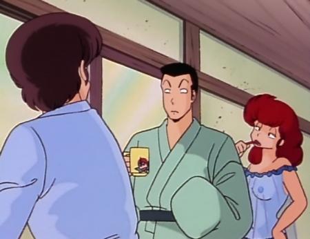 めぞん一刻TV版 六本木朱美の胸裸乳首27