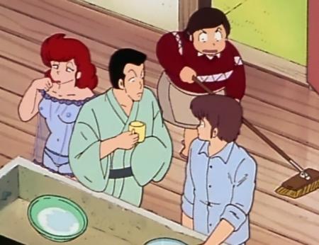 めぞん一刻TV版 六本木朱美の胸裸パンツ乳首28