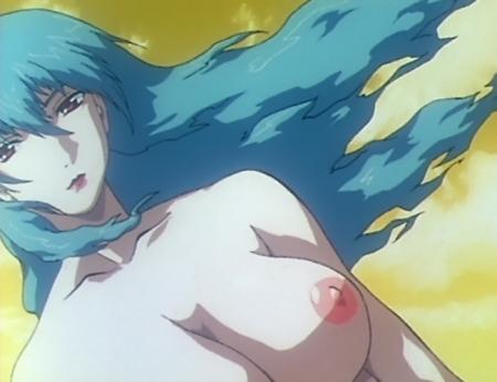 銀装騎攻オーディアン 哉生香織の胸裸乳首59