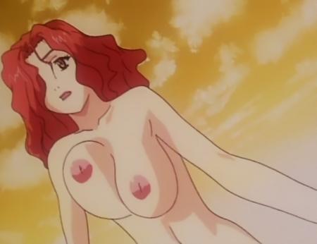 銀装騎攻オーディアン 鎬臣麗子の胸裸乳首70