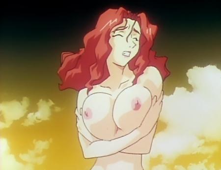 銀装騎攻オーディアン 鎬臣麗子の胸裸乳首75