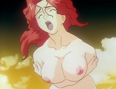 銀装騎攻オーディアン 鎬臣麗子の胸裸乳首79