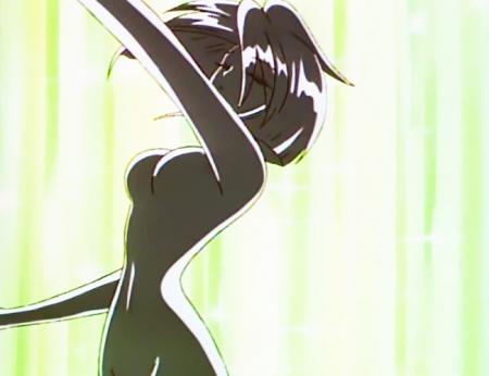 愛天使伝説ウェディングピーチ 珠野ひなぎくの全裸変身シーン21