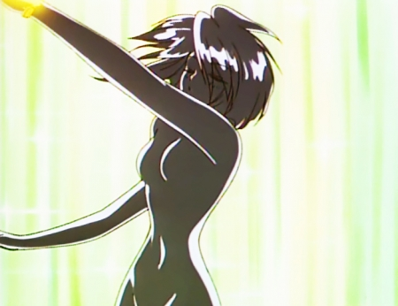 愛天使伝説ウェディングピーチ 珠野ひなぎくの全裸変身シーン22