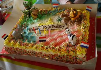 誕生日ケーキ③