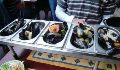 5種類ムール貝