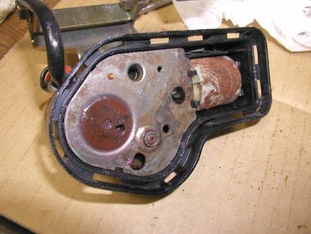 R129 ヘッドライト ワイパーモーター その8 オールドベンツ レストア
