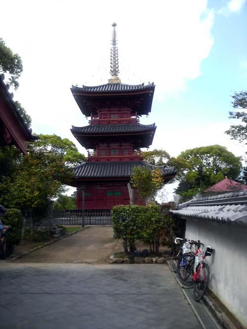 豊前国分寺三重塔