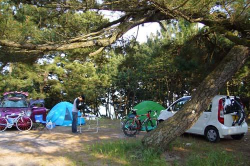 奈多キャンプ場