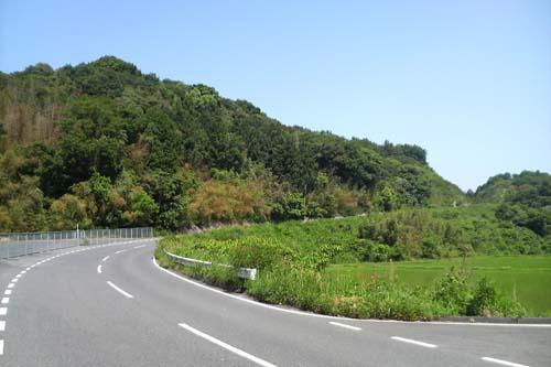 広域農道の坂1