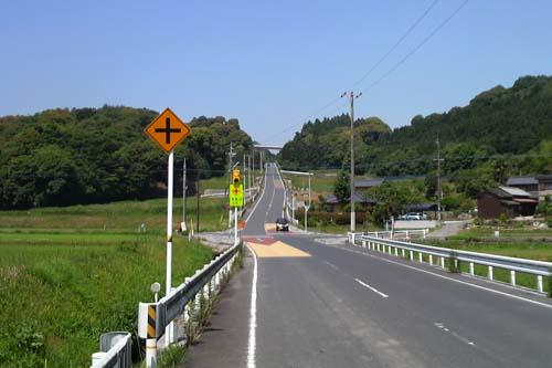 広域農道の坂2