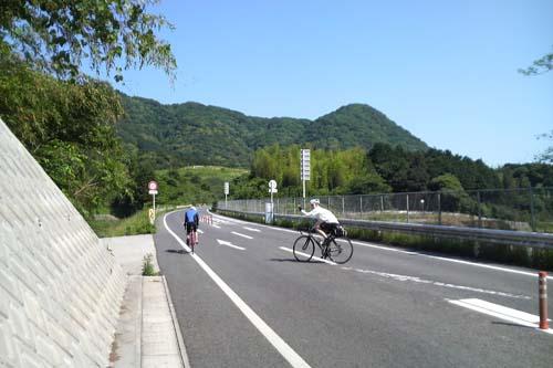 京都峠で2人とお別れ