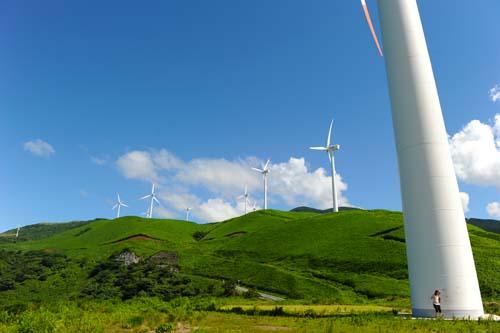 俵山の風車