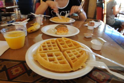 カイエンタの朝食