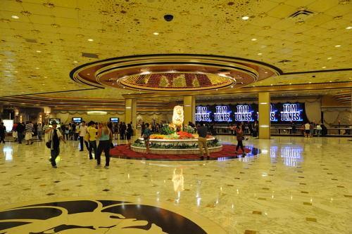 MGM Grandのロビー