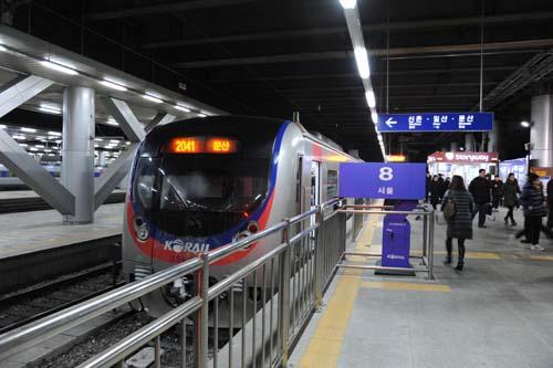 京義線の電車