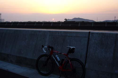 行橋の日の出