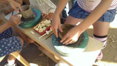 八尾もの陶芸1