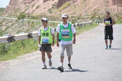ベギマルさんとマラソン