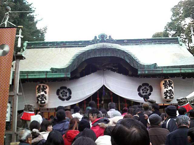 120101_大阪北摂_茨木神社_恭賀新年_本殿