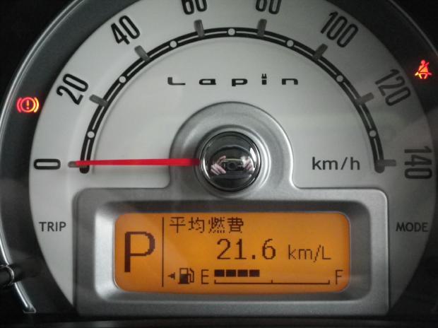 カミさんの車の燃費です!