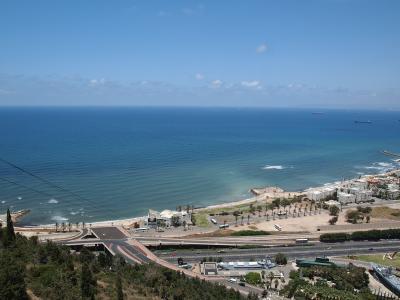 ハイファからみる地中海