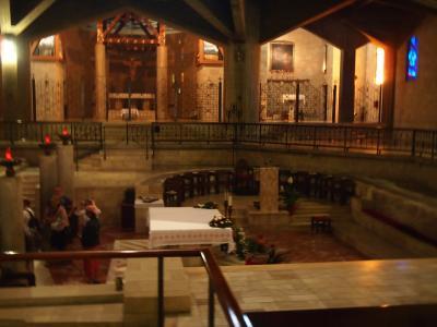 受胎告知教会地下聖堂