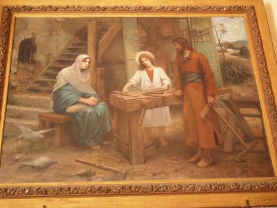 聖家族仕事シーン